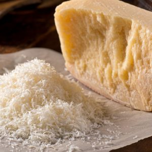 Freshly grated parmigiano reggiano parmesan cheese.; Shutterstock ID 269346887; PO: today.com